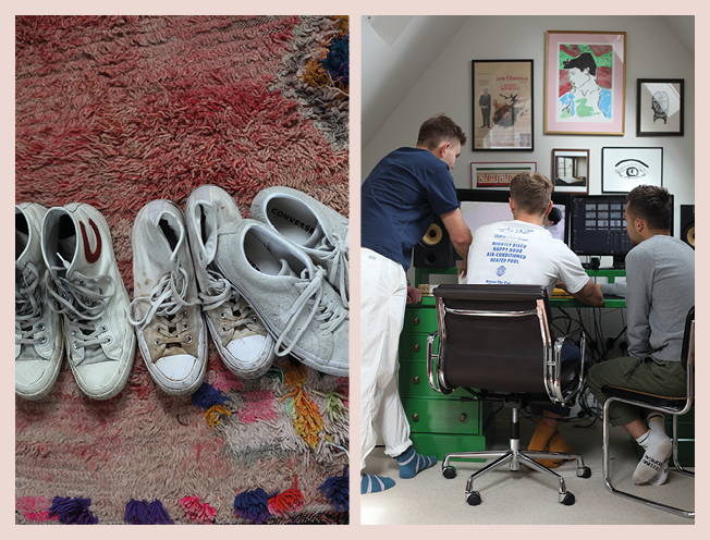 Things and People: The Sonder Boys and their Converse sneakers