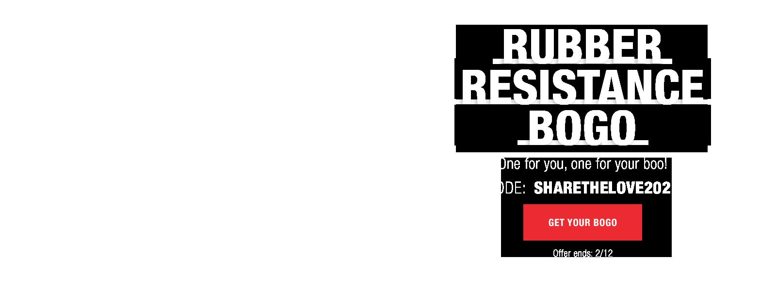 shop rubber resistance sale