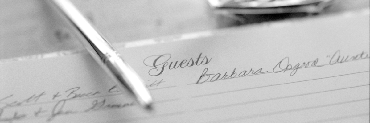 Create Your Own Memorial Guest Book