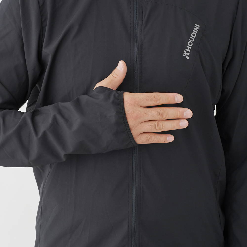 HOUDINI(フーディニ)/エアツーエアウィンドジャケット/ブラック/MENS
