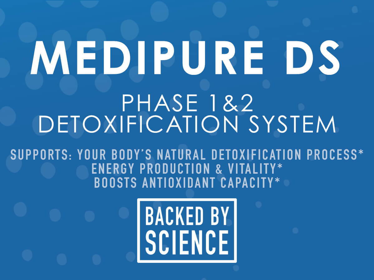 Medipure DS - Phase 1&2 Detoxification System - NuEthix