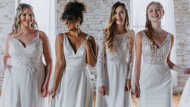 Kennedy Blue Wedding Dresses
