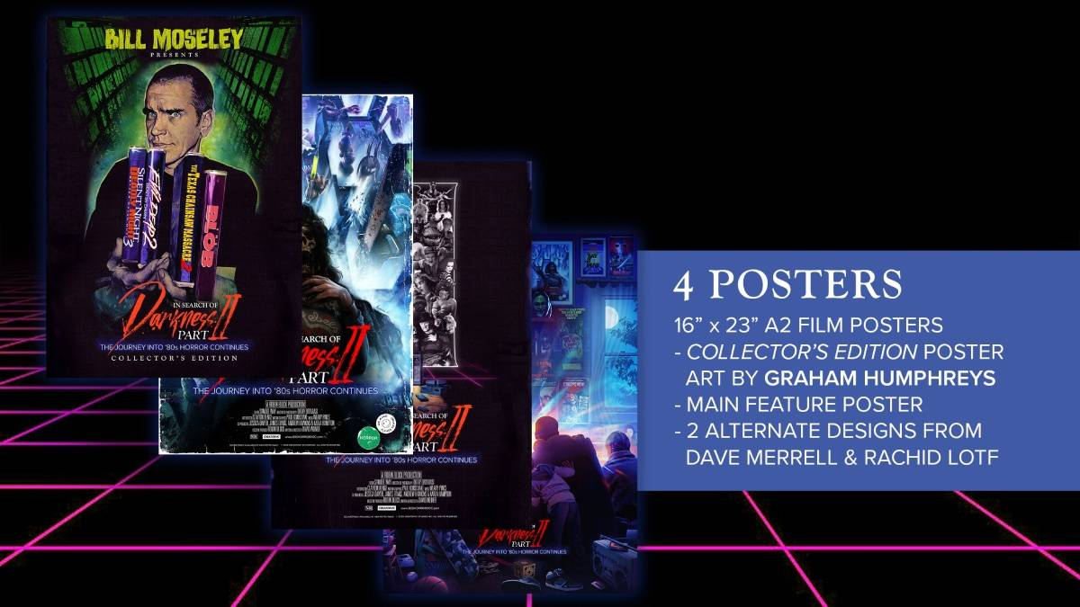 In Search of Darkness Part II, Bill Moseley Collector's Edition poster package