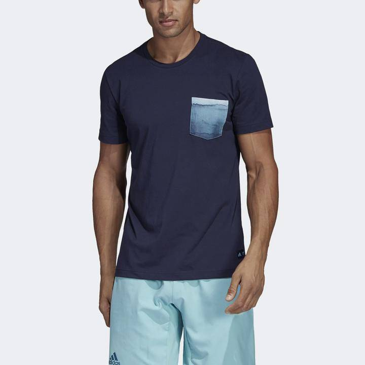 adidas Parley pocket tee men's