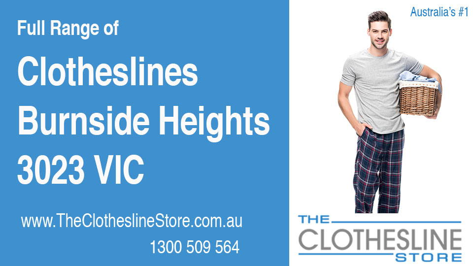 New Clotheslines in Burnside Heights Victoria 3023