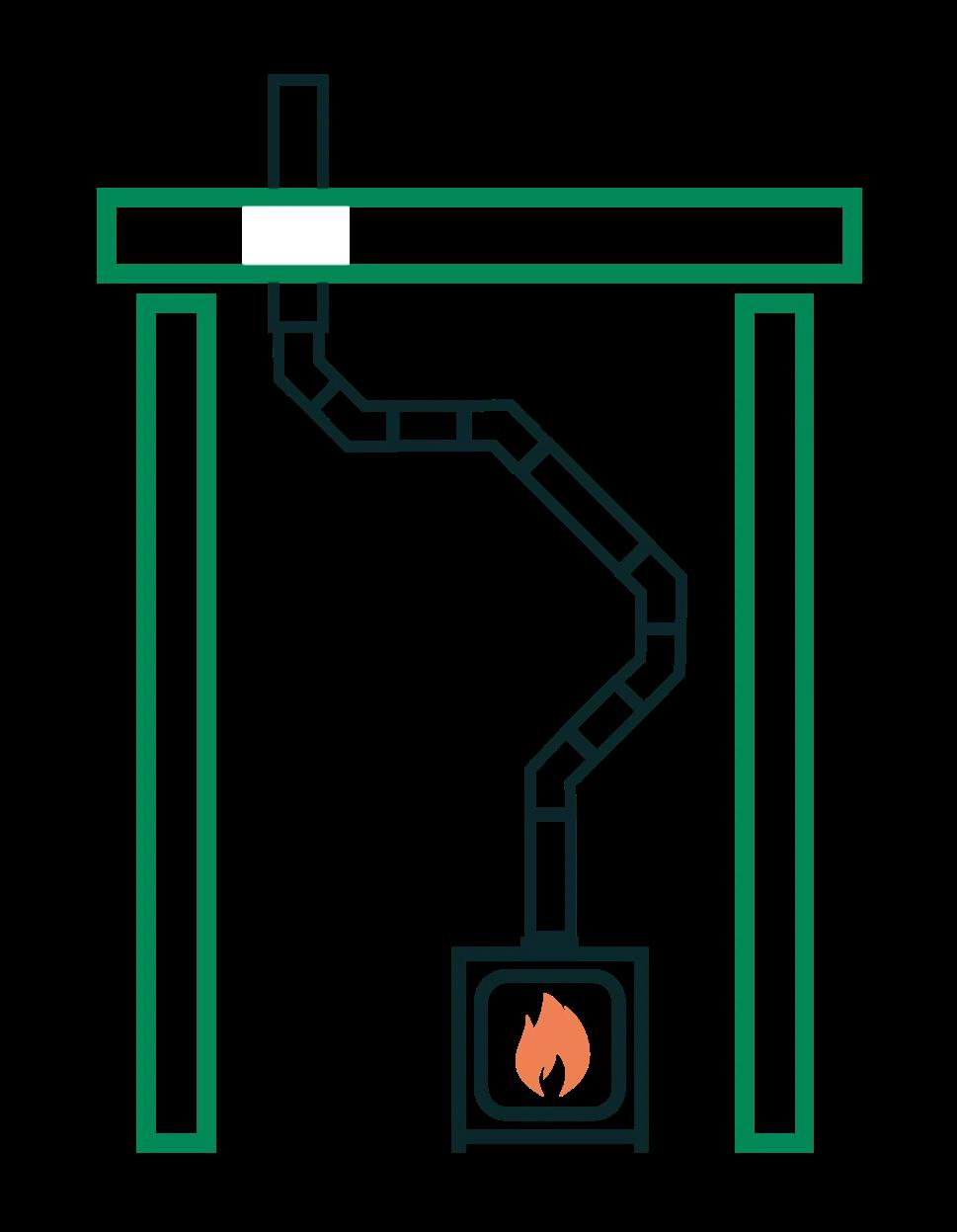 chimney bends diagram