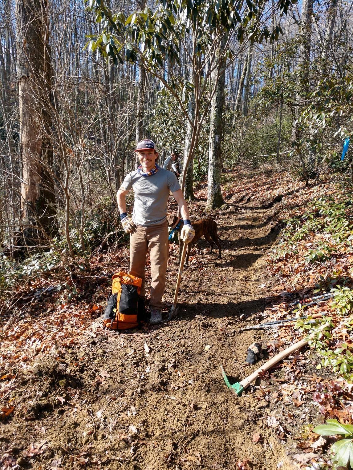 Trail Crew Mountain to Sea Trail