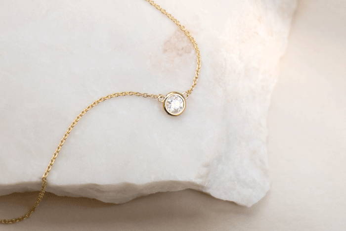 The Solitaire Diamond Necklace