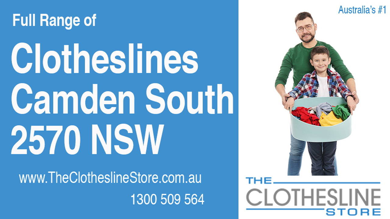 New Clotheslines in Camden South 2570 NSW