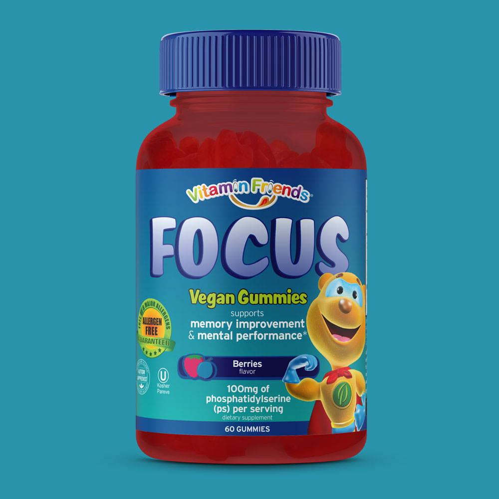 Vitamin Friends Focus Gummies