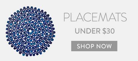 Placemats under $30