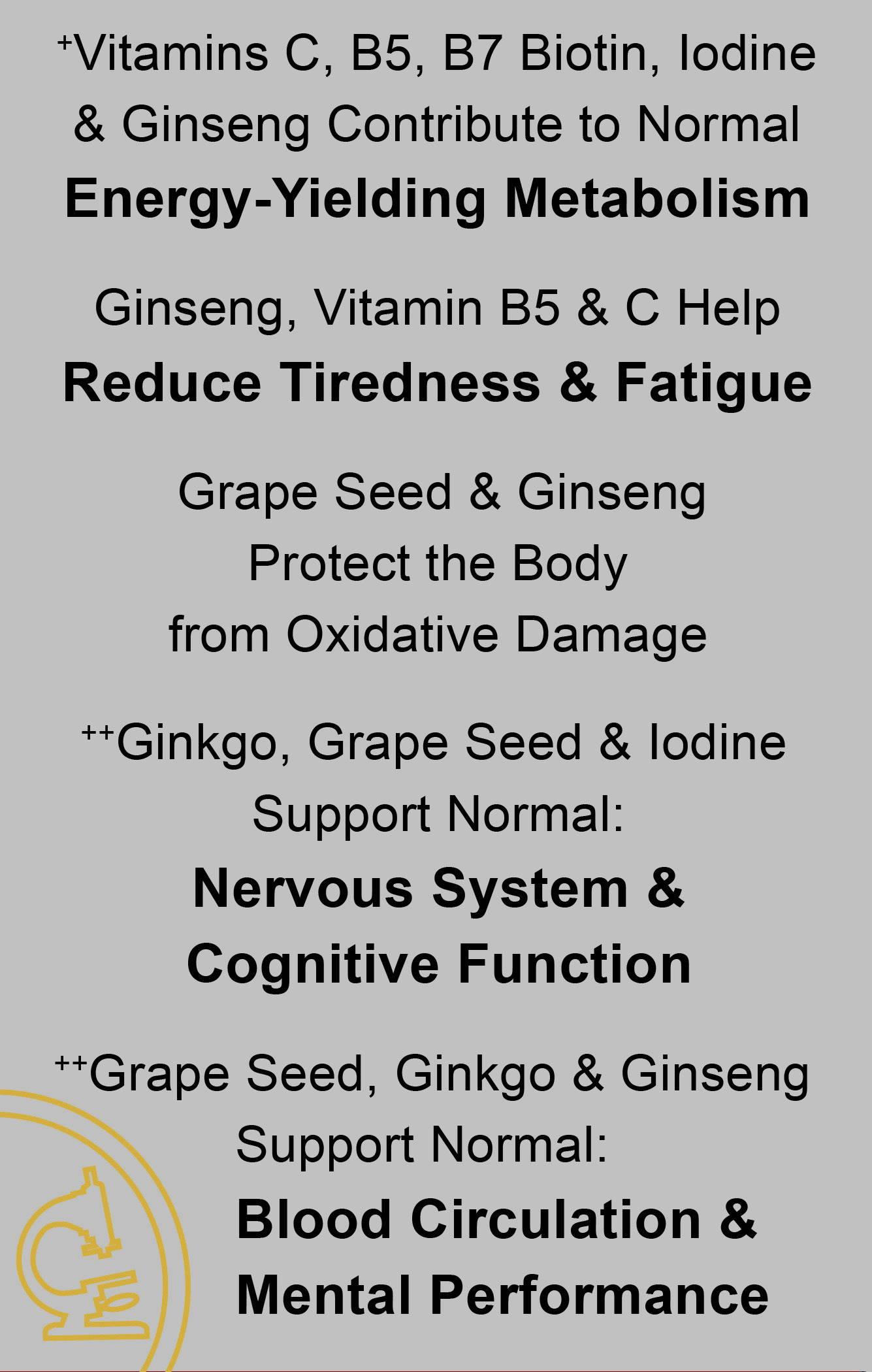 Energise 4 Benefits