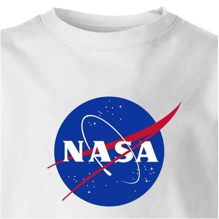 NASA Kids White T-Shirt
