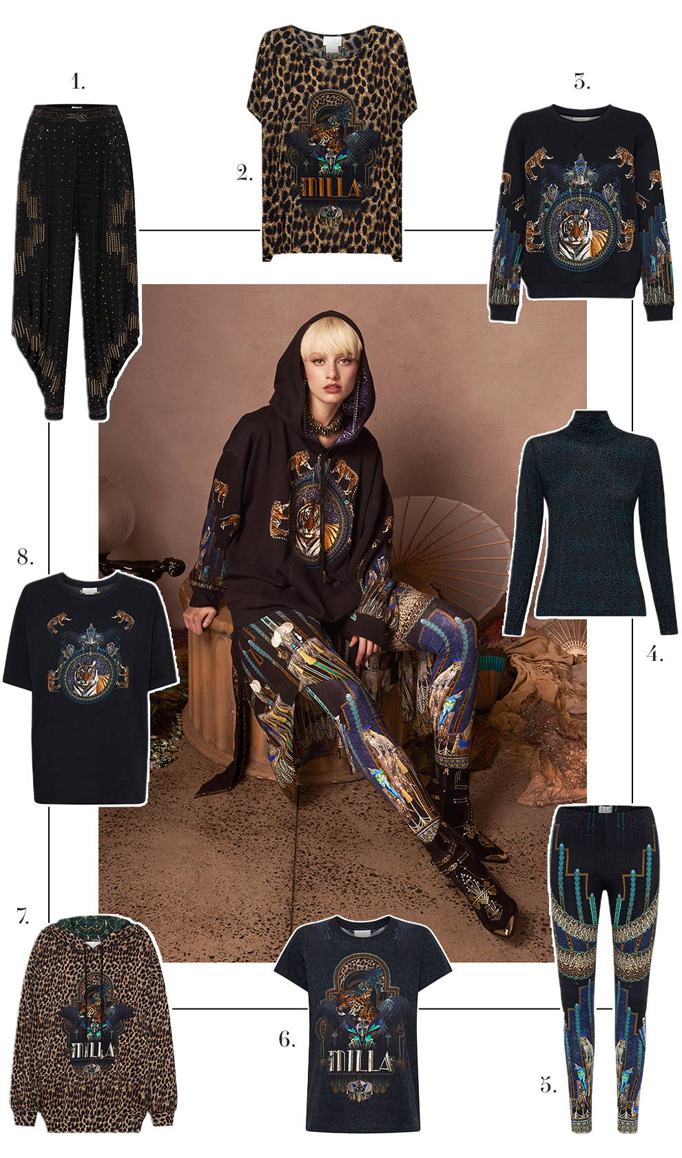 CAMILLA Time Tripping Lounge Edit | Hoodies, Leggings and tees