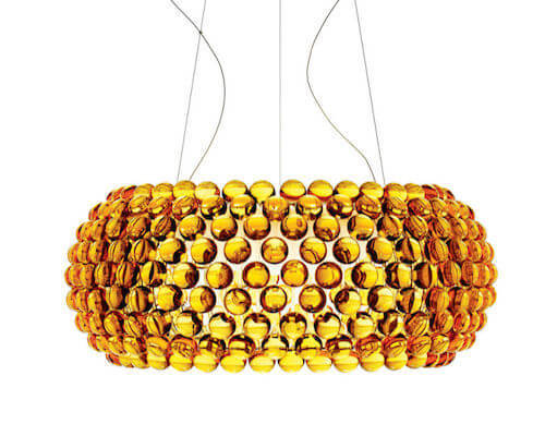 Foscarini Caboche LED Chandelier in Gold