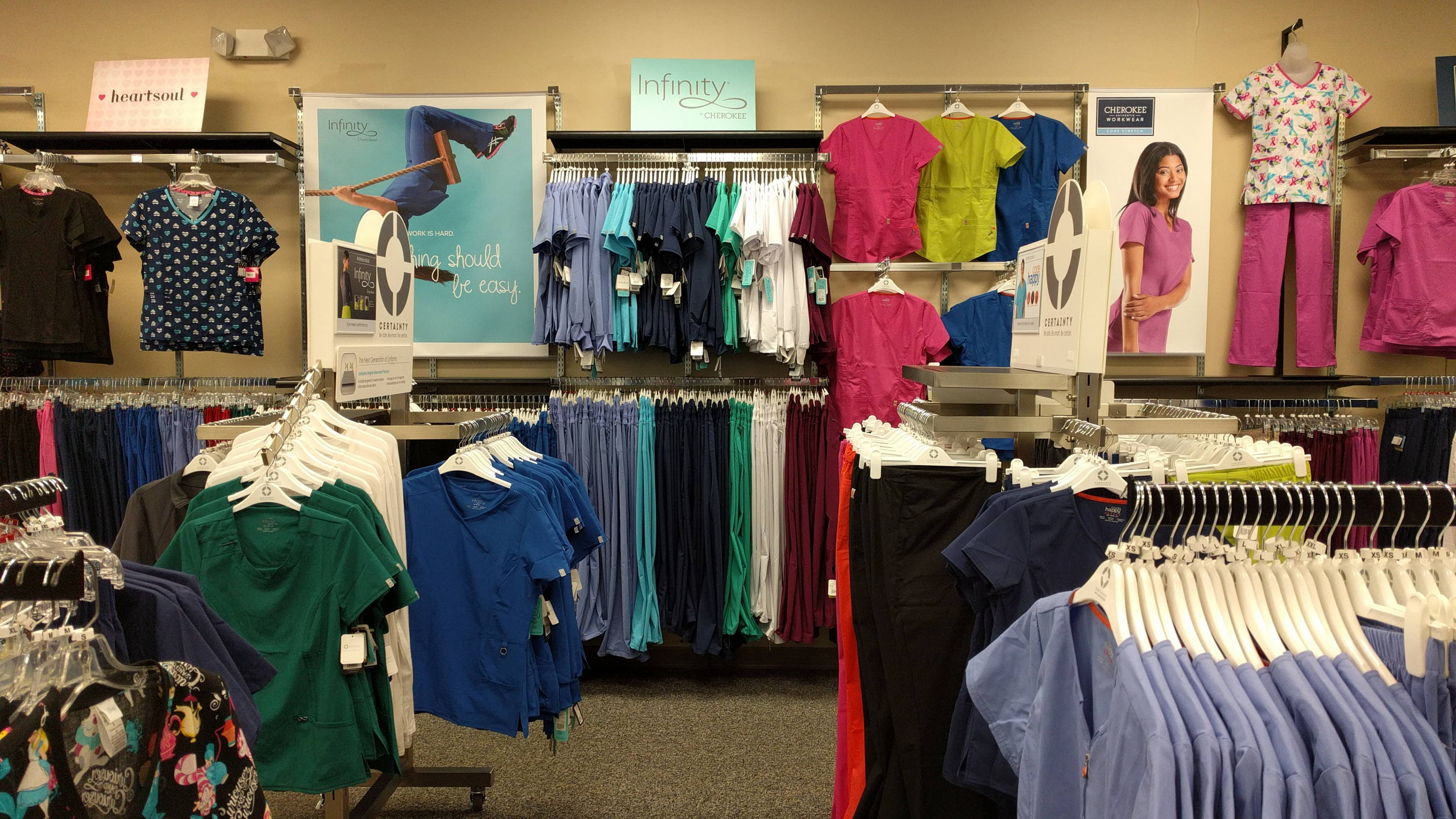 Cherokee Scrubs available at Affordable Uniforms Gahanna