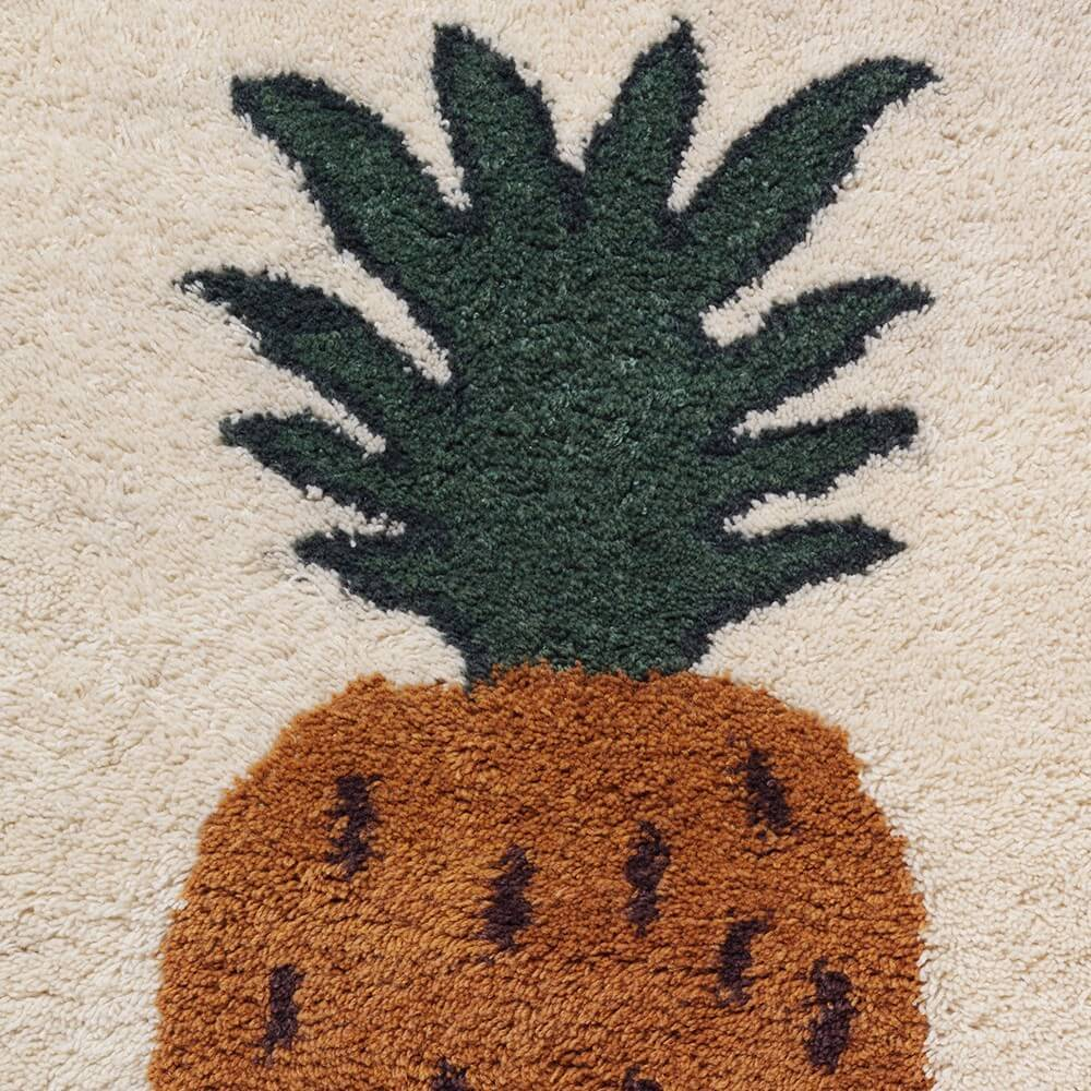 Ferm Living Tufted Pineapple Rug