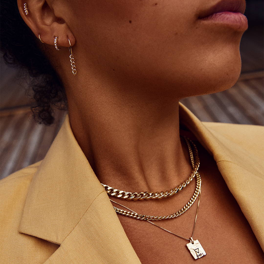 Your styling guide to a cool look with layered necklaces.