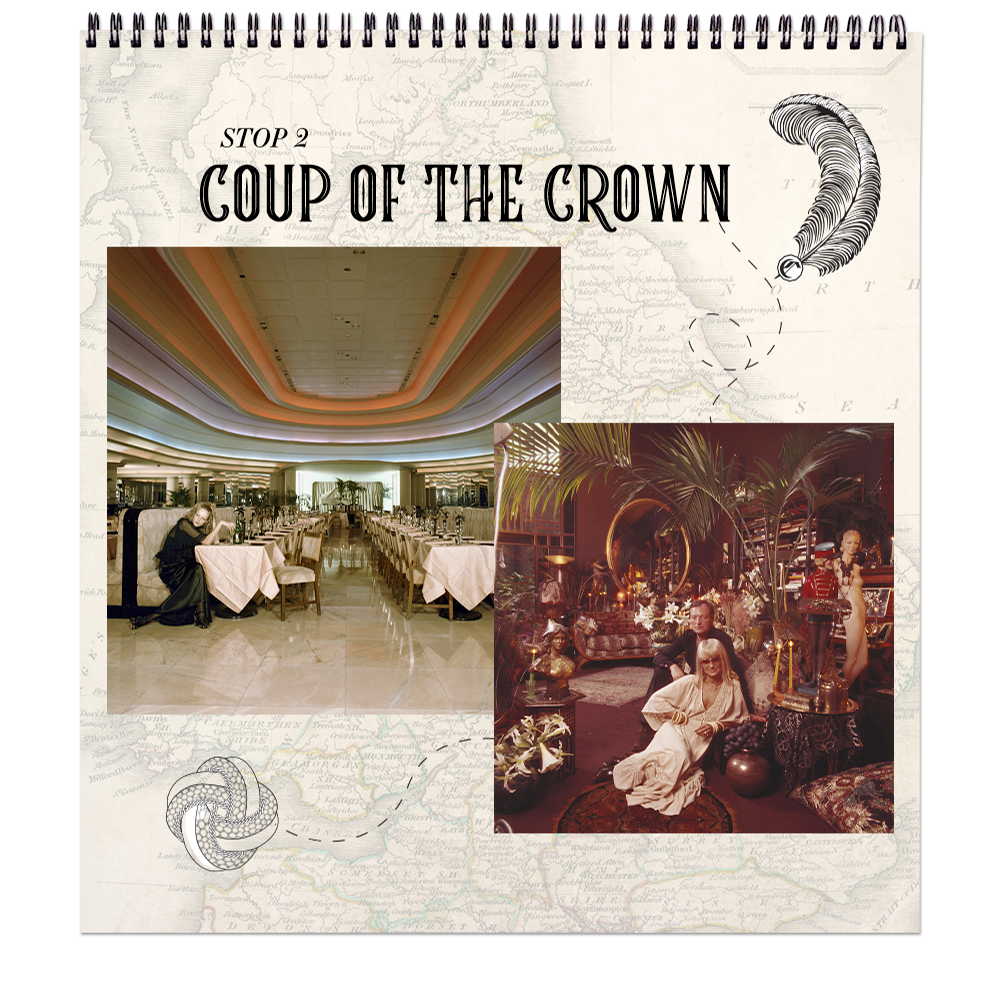 Coup Of The Crown   Biba Boutique Inspired CAMILLA prints