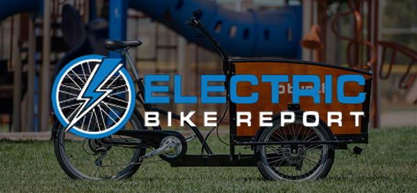 Electric Bike Report logo with Bunch Bike The Original
