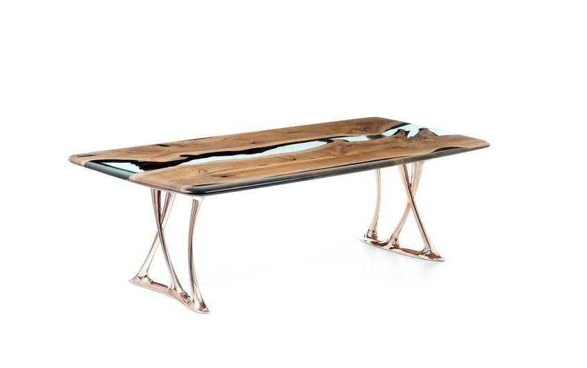 Naturalist Osso 270 Resin Dining Table
