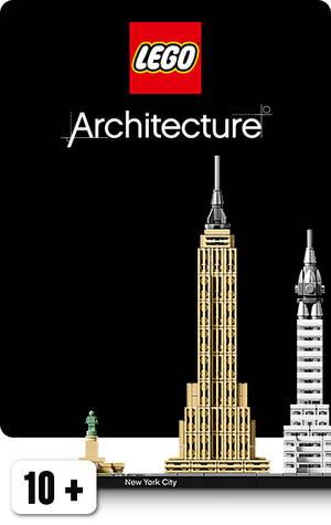 LEGO arkkitehtuuri sarjan Empire State Building