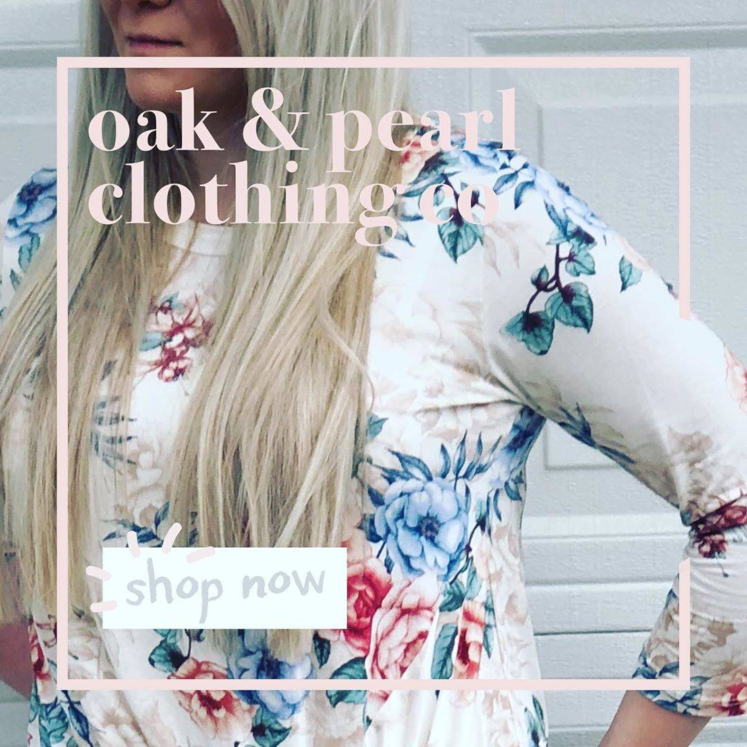 oak and  pearl cassidy cream top