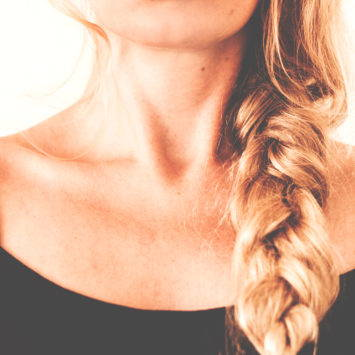 Woman With Plaited Hair