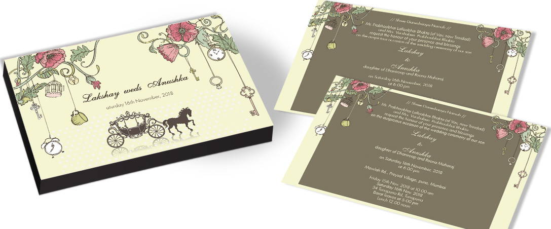 Unique Garden Themed Wedding Invitations In India