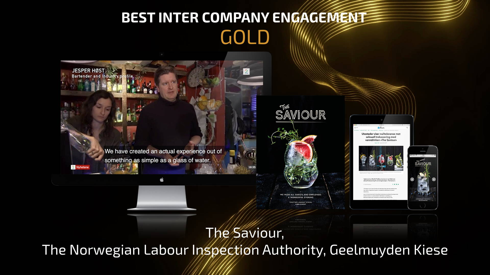 Best Inter Company Engagement - Gold
