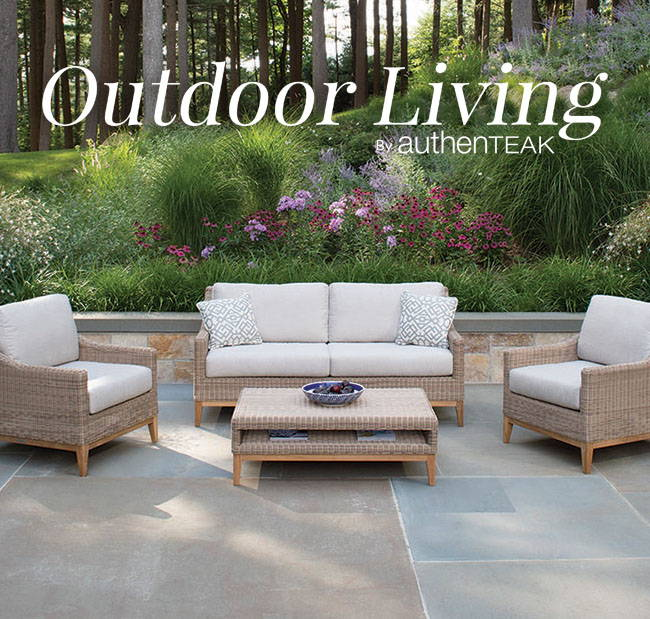 Get inspired by our blog Outdoor Living by AuthenTEAK