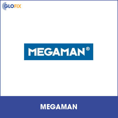 Collection of Megaman products at GloFix