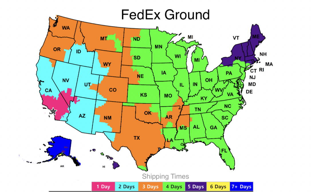 fedex-ground-shipping-times