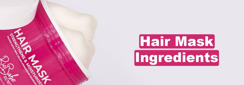 Moisturizing and strengthening hair mask ingredients