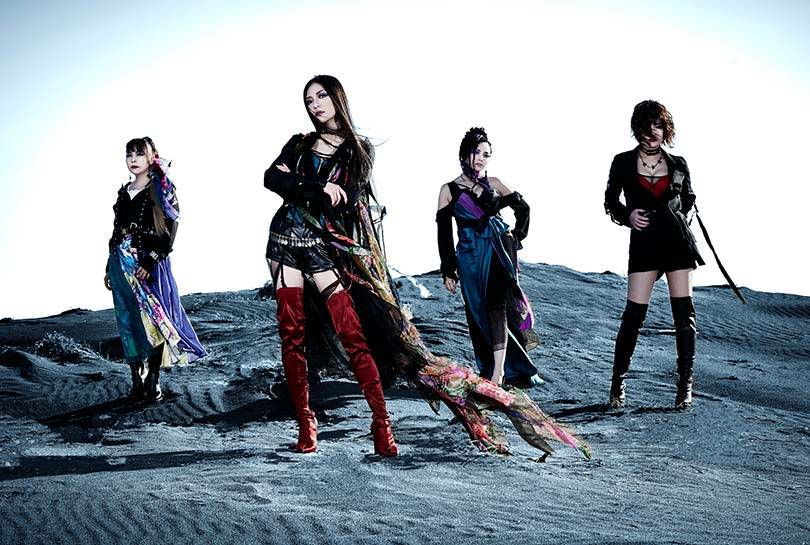 Mary's Blood band Japanese metal girl group JPU Records