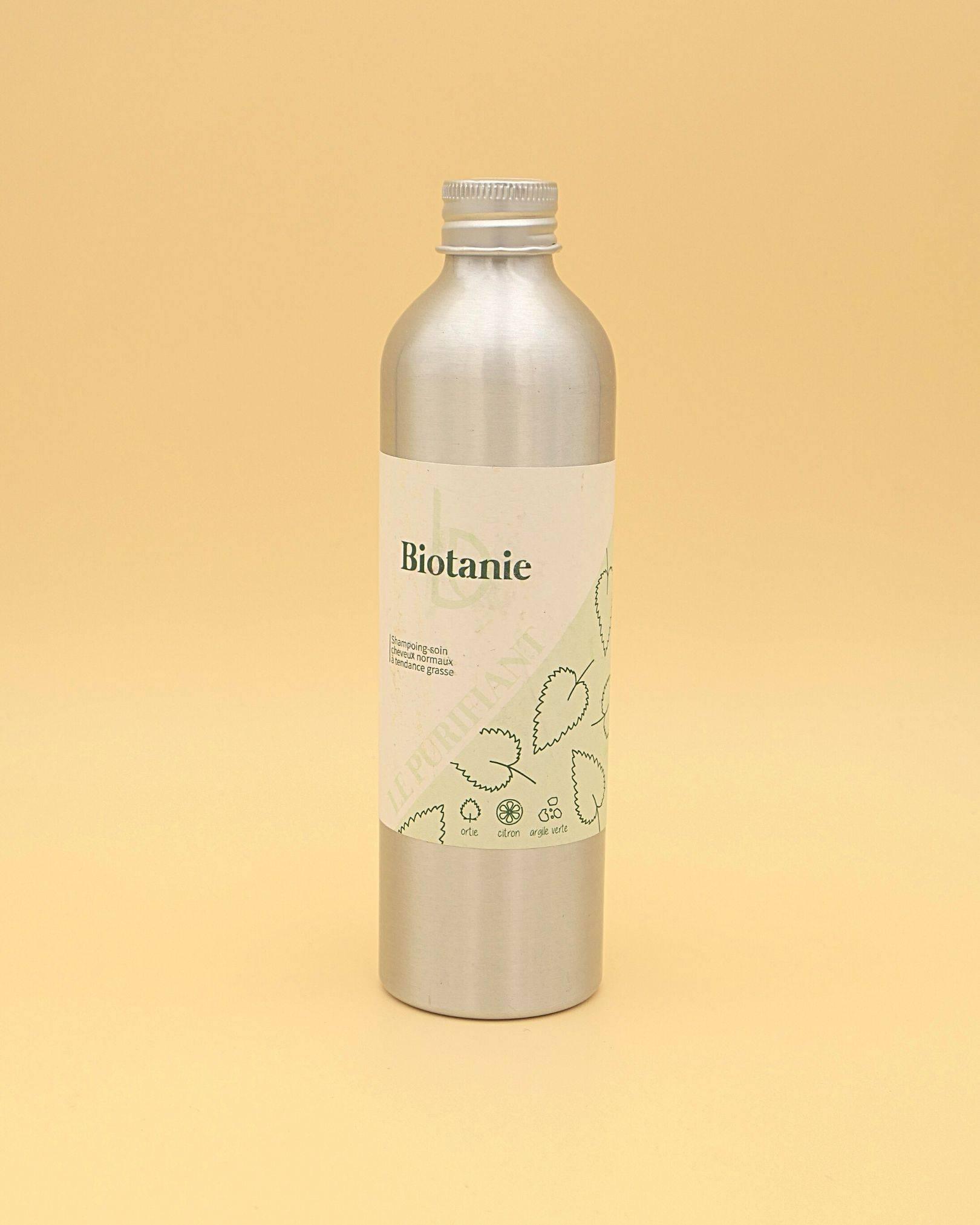 Shampoing zéro-déchet liquide ! Cheveux normaux ou à tendance grasse