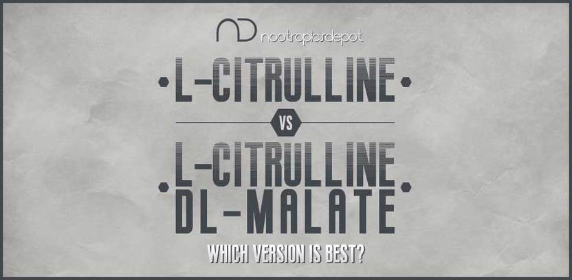 L-Citrulline vs. L-Citrulline DL-Malate