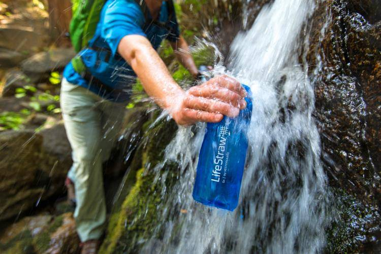 Survival tips, clean and filtered water.