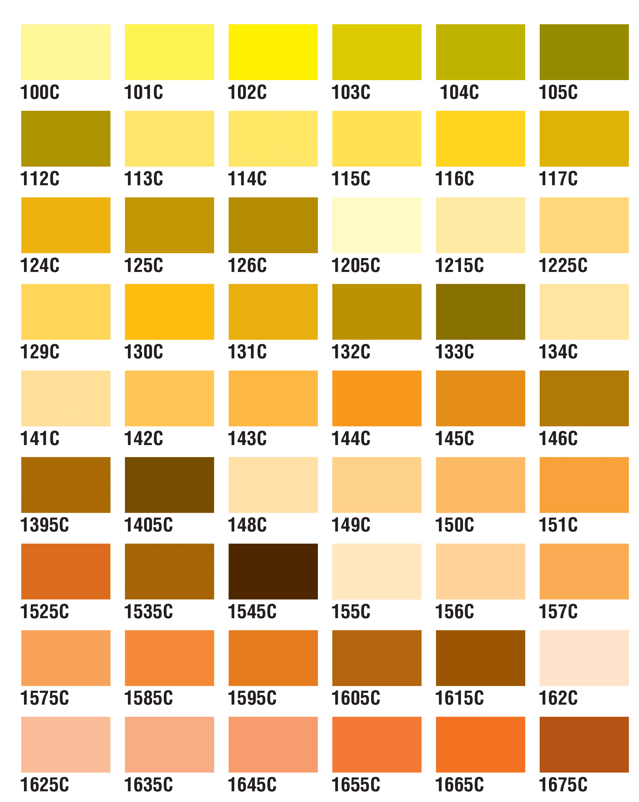 PMS Colors 1