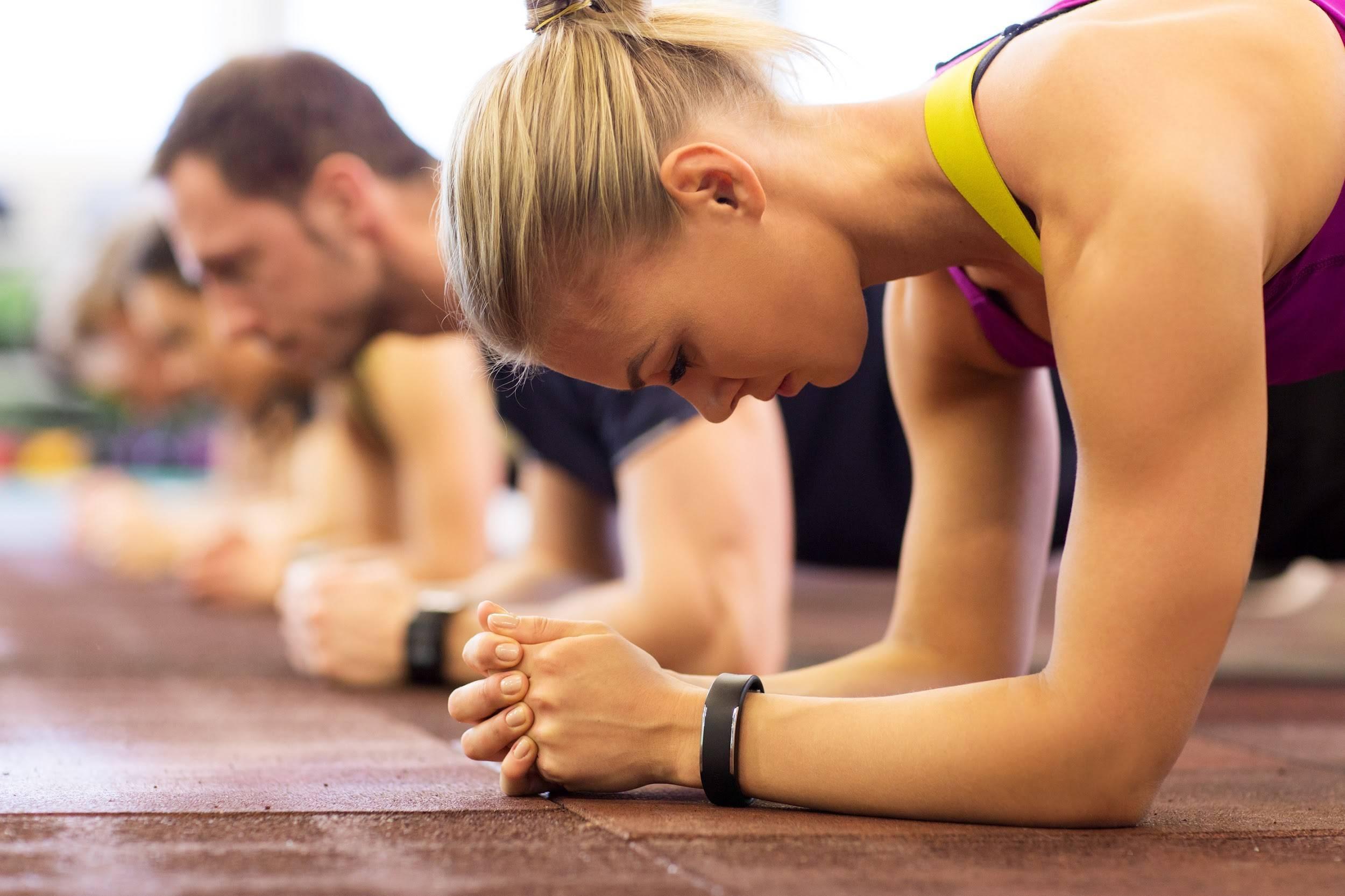 planking strength training