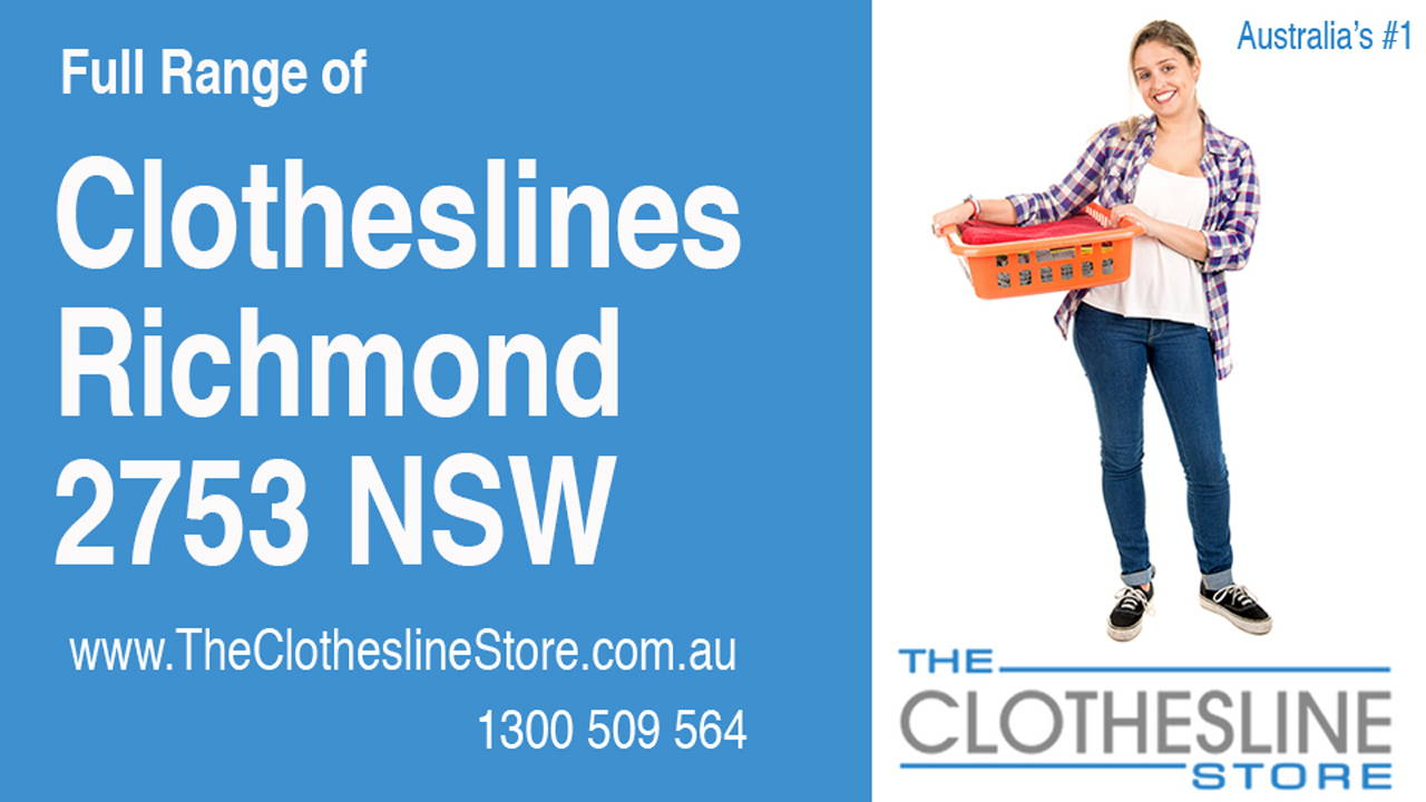 New Clotheslines in Richmond 2753 NSW