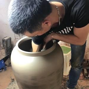 Creating Jian Shui Pottery - Modify and Fine Tune