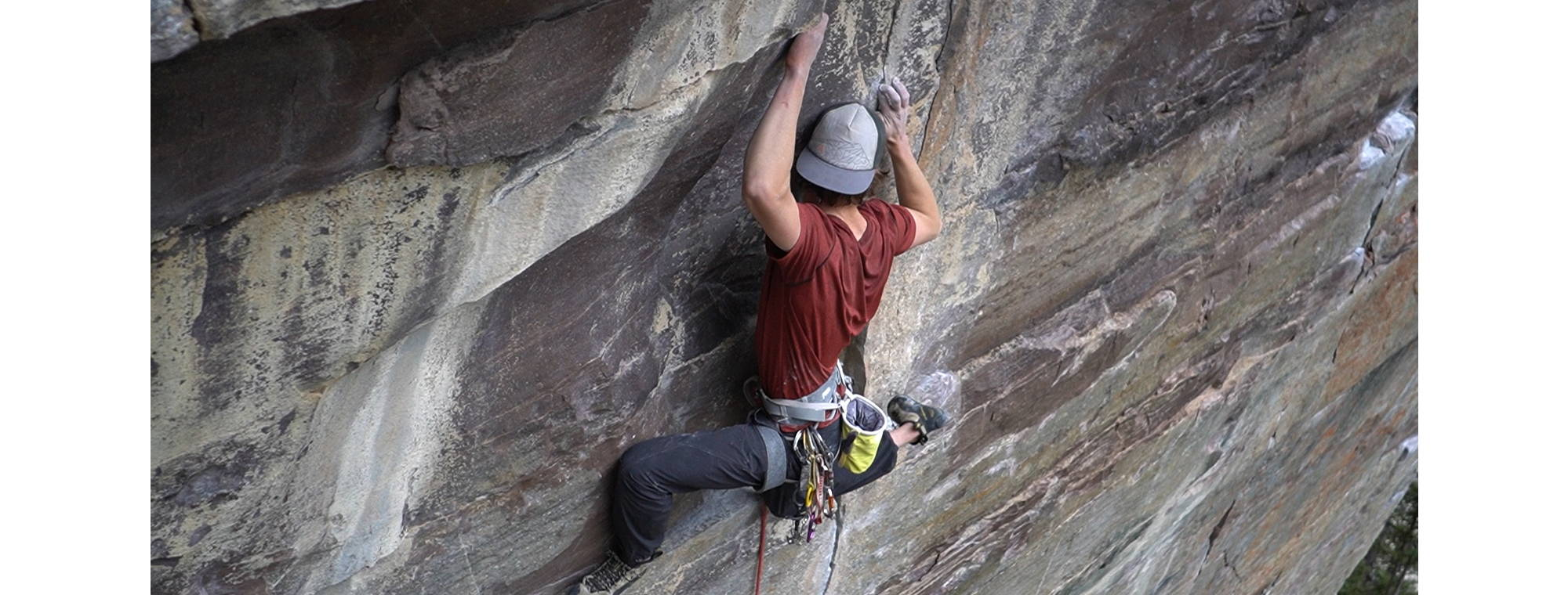 NW Alpine Ambassador Cory Rogans Sport Climbing Canada