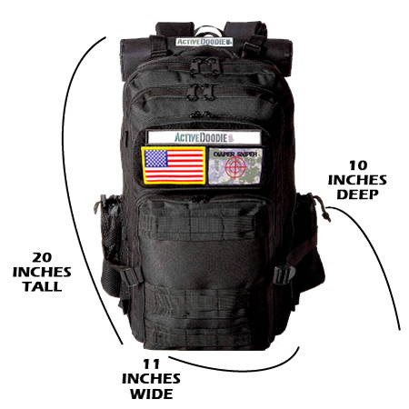 Active Doodie Daddy Diaper Bags with Tactical Advantage Baby Bags for Men