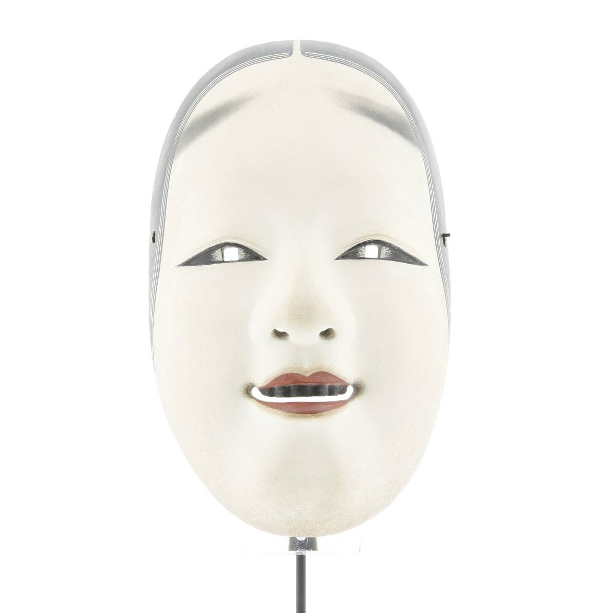 japanese noh mask, young woman