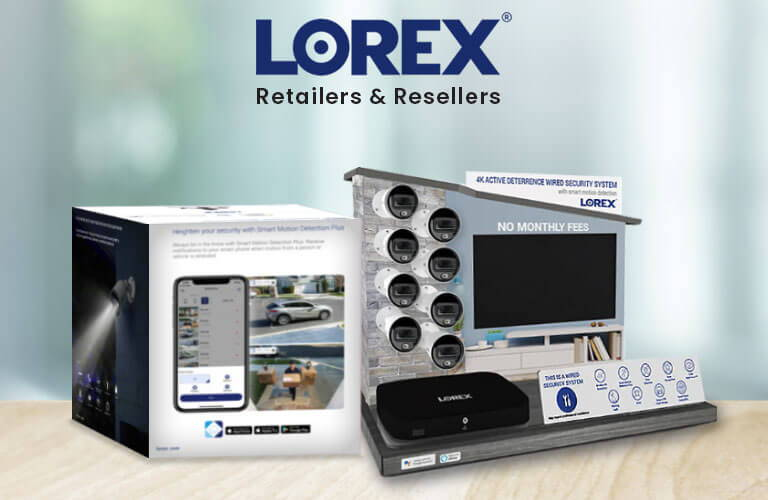 Lorex Retailers and Resellers