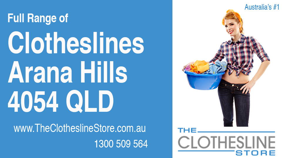 New Clotheslines in Arana Hills Queensland 4054