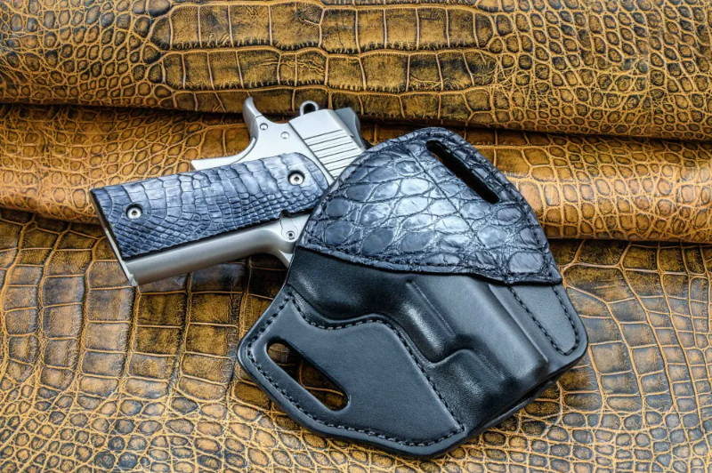 1911 holster leather