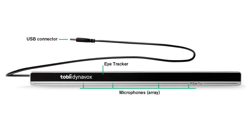 Seguidor ocular PCEye Plus de Tobii Dynavox