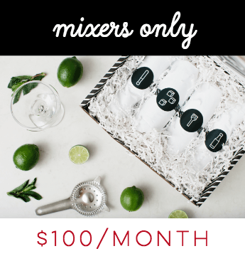 Mixers Only Modern Cocktail Subscription